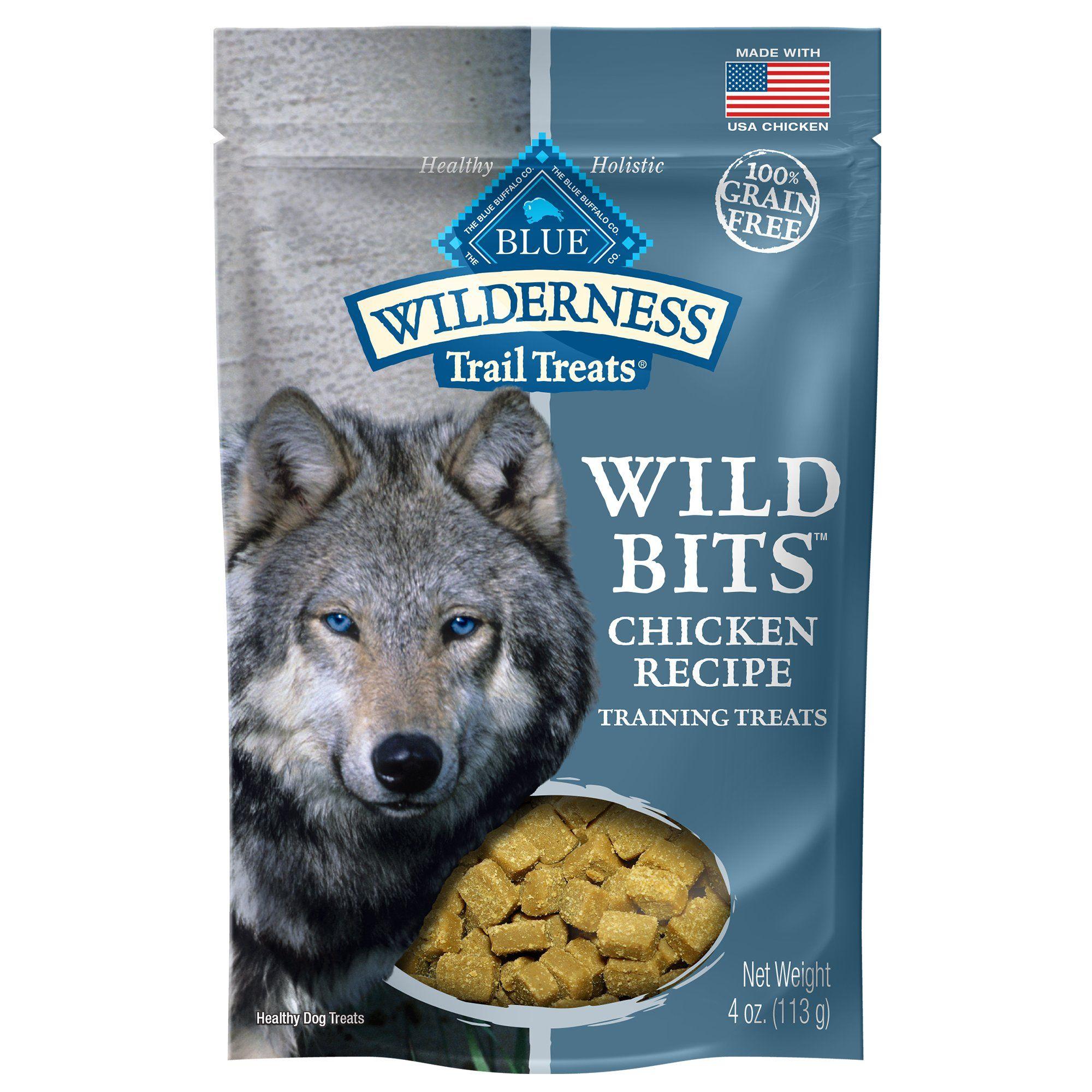 Blue Buffalo Blue Wilderness Trail Treats Chicken Wild Bits Dog