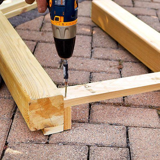 anmate y prueba hacer tu nueva mesa para el patio terraza o jardn con este