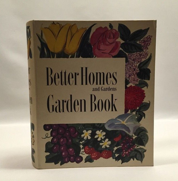 Better Homes and Gardens Garden Book Ring Bound First Edition Meredith 1951