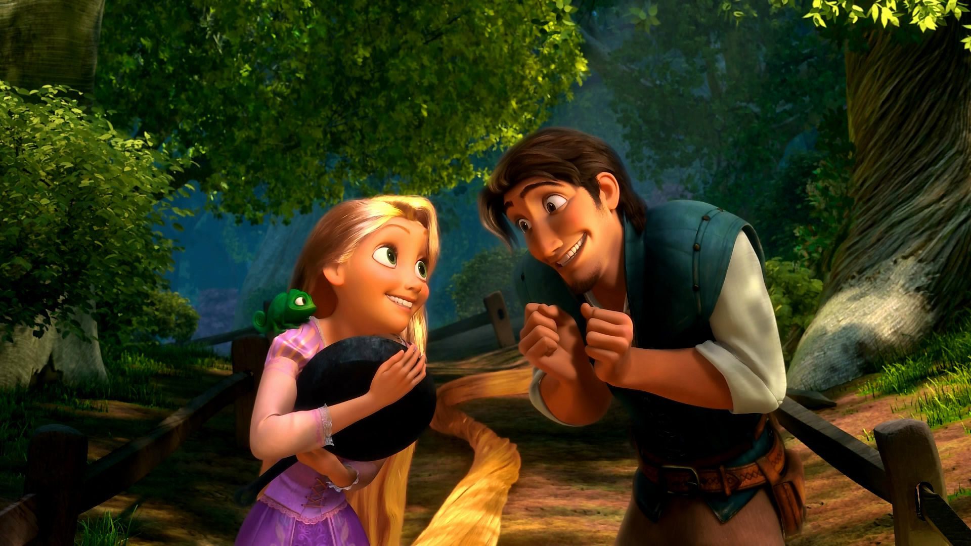 Tangled-Rapunzel-hair-Flynn-Rider.jpg (1920×1080) | Disney ... for Tangled Wallpaper Rapunzel And Flynn  117dqh