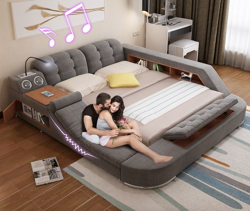 Tatami Massage Bed The Ultimate All In One Sleeping And Relaxation Solution Goodgood Modern Bed Bed Design