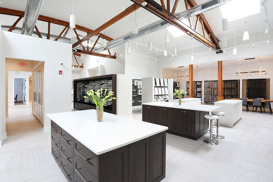 A Showroom To Inspire Educate Plan Kitchen Bath Business In