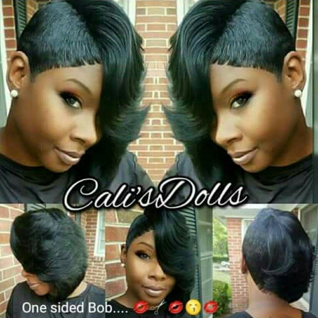 18++ One sided bob haircut inspirations