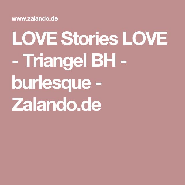 LOVE Stories LOVE - Triangel BH - burlesque - Zalando.de