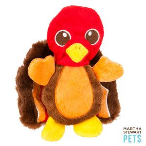 Martha Stewart Pets Flatty Turkey Dog Toy Toys Petsmart