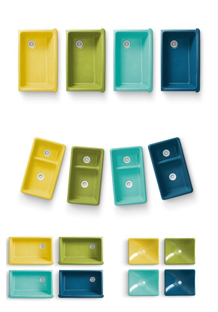 Kohler\'s Colourful Sink Collection by Jonathan Adler | Jonathan ...