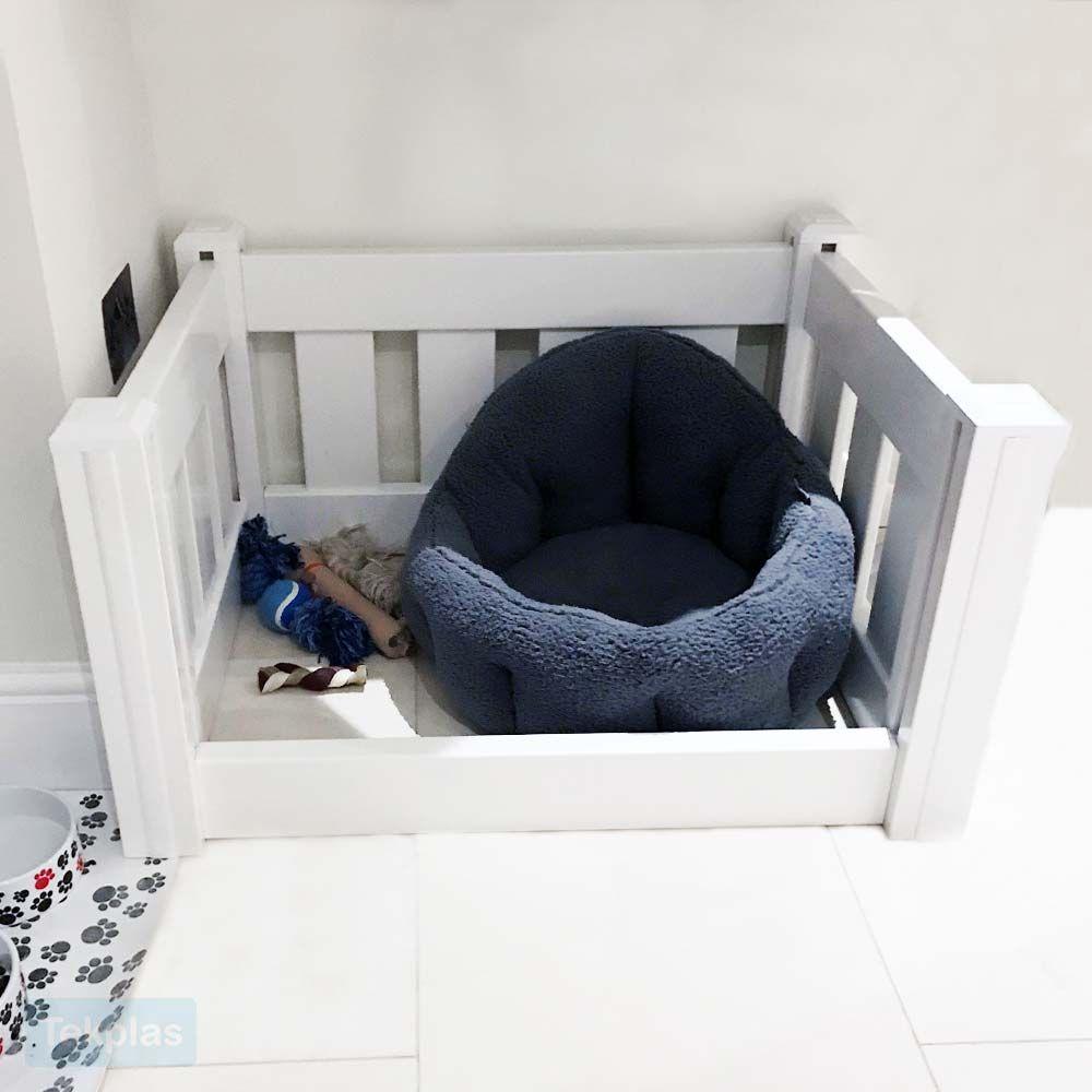 Plastic Whelping Box Puppy Playpen Dog Playpen Dog Crate Bed Puppy Playpen