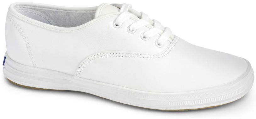 Keds® Champion Leather Lace-Up Sneakers