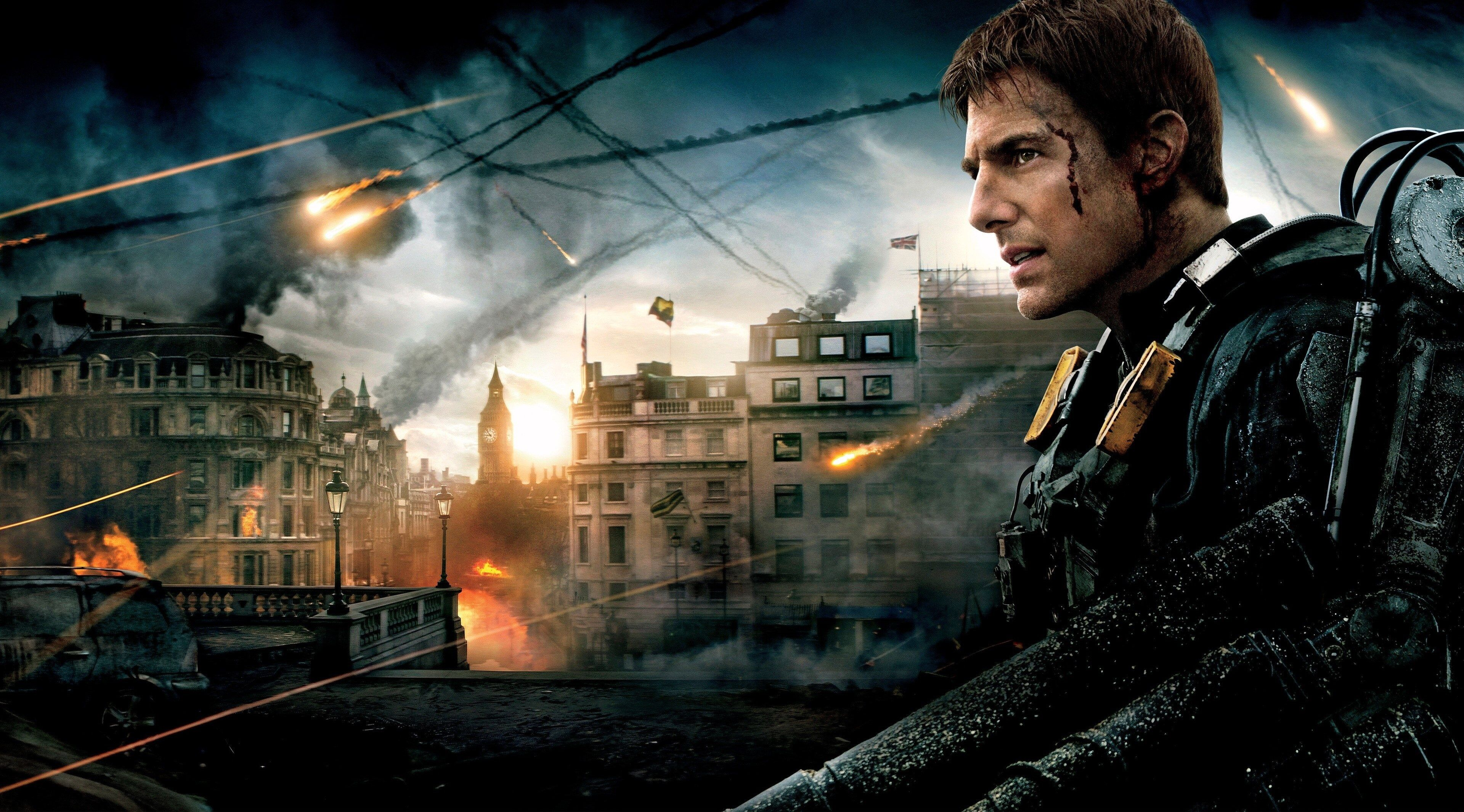 3840x2130 Edge Of Tomorrow 4k Awesome Wallpaper Edge Of Tomorrow Tom Cruise Tom Cruise Movies