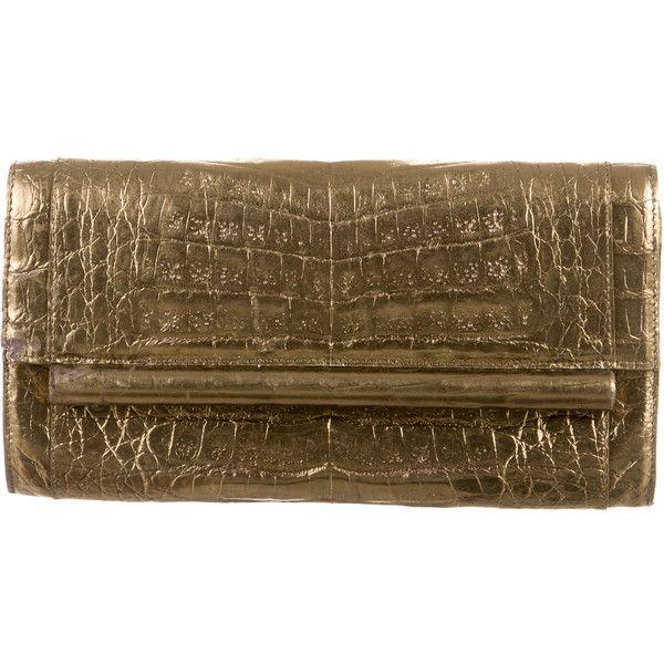 Nancy Gonzalez Pre-owned - Crocodile clutch bag g4HGrB