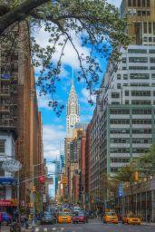 Sunday Funday NYC Street Scene.