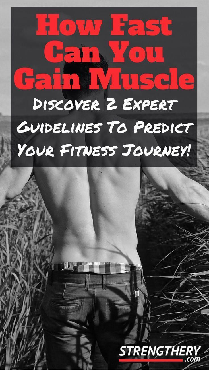 Discover how fast you realistically can gain muscle. Learn why some fat gain should be expected, and...