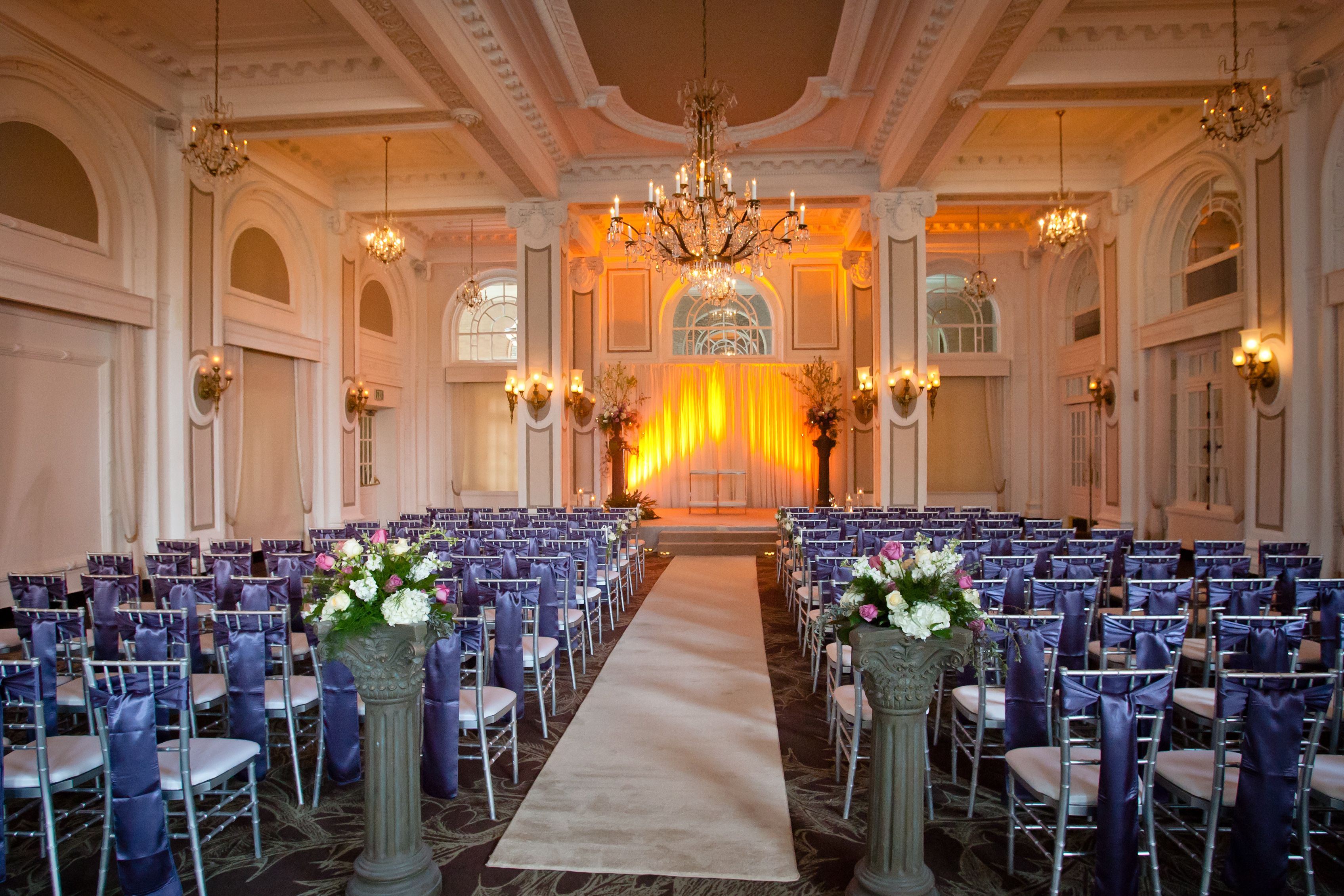 Grand Ballroom Elegant Ceremony