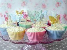 Resultado de imagen para torta con mariposas para baby shower