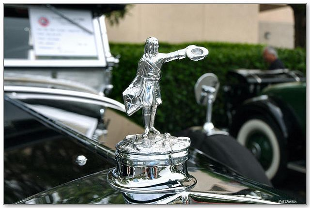 1929 Lasalle Dual Cowl Phaeton Black Himself Car