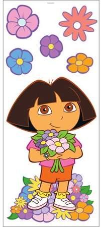 Blue Mountain Wallcoverings 12440346 Dora Best Friends 6 Large Wall Accent Murals Stickers Walmart Com In 2020 Dora Wallpaper Cartoon Wallpaper Iphone Dora