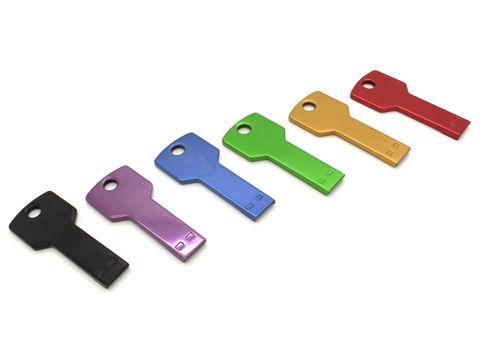 Cle USB Clef Carre Color - Clé USB Clef - Clé USB - Produits | E-dkado pro