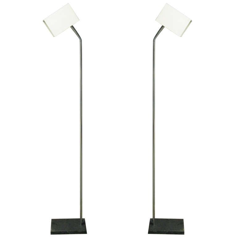 Pair of robert sonneman for george kovacs floor lamps floor lamp pair of robert sonneman for george kovacs floor lamps aloadofball