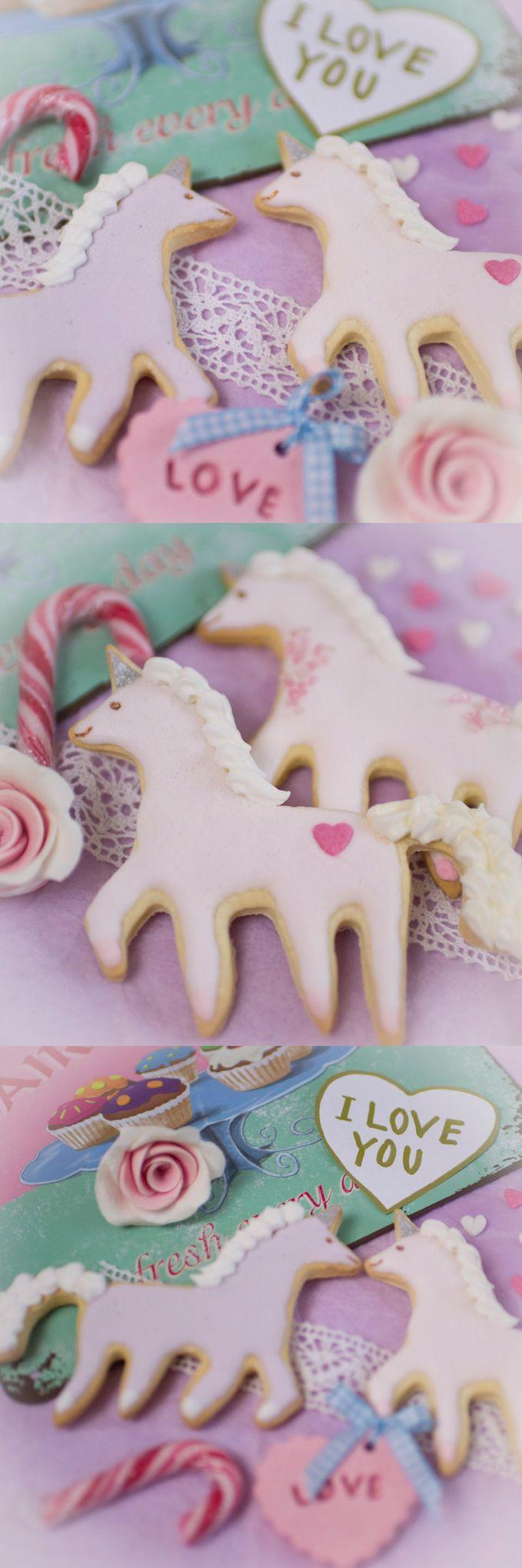 frau zuckerfee einhorn kekse anleitung kekse verzieren royal icing unicorn cookies cookie. Black Bedroom Furniture Sets. Home Design Ideas
