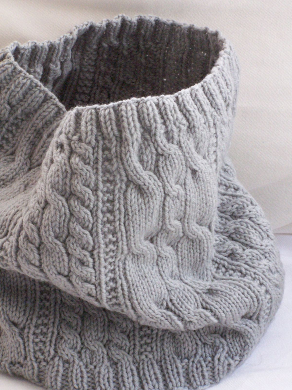 Cable-eazy Cowl pattern by Megan Delorme | Scarves, Knit cowl and Shawl