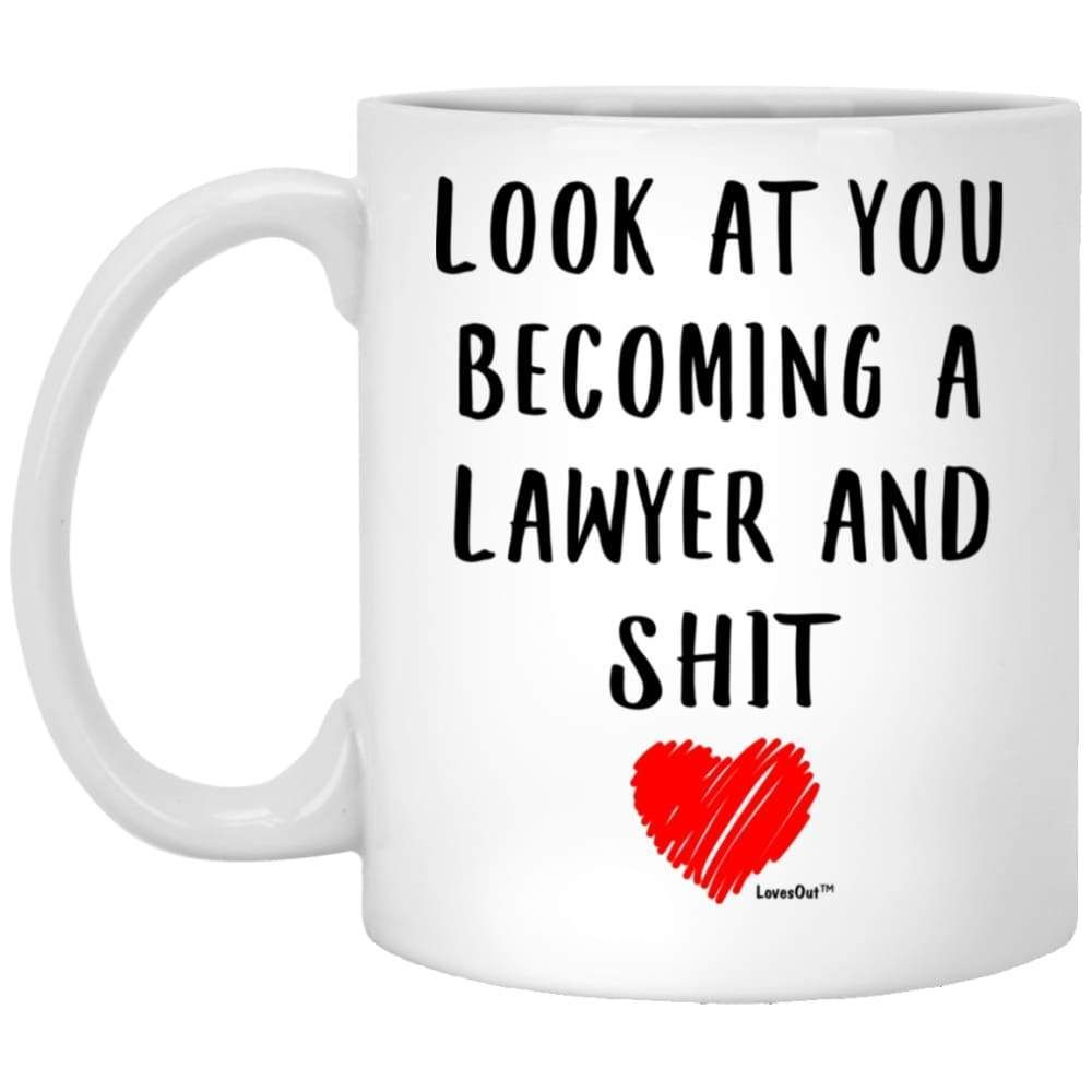 Funny future lawyer gifts mug 11oz gifts in a