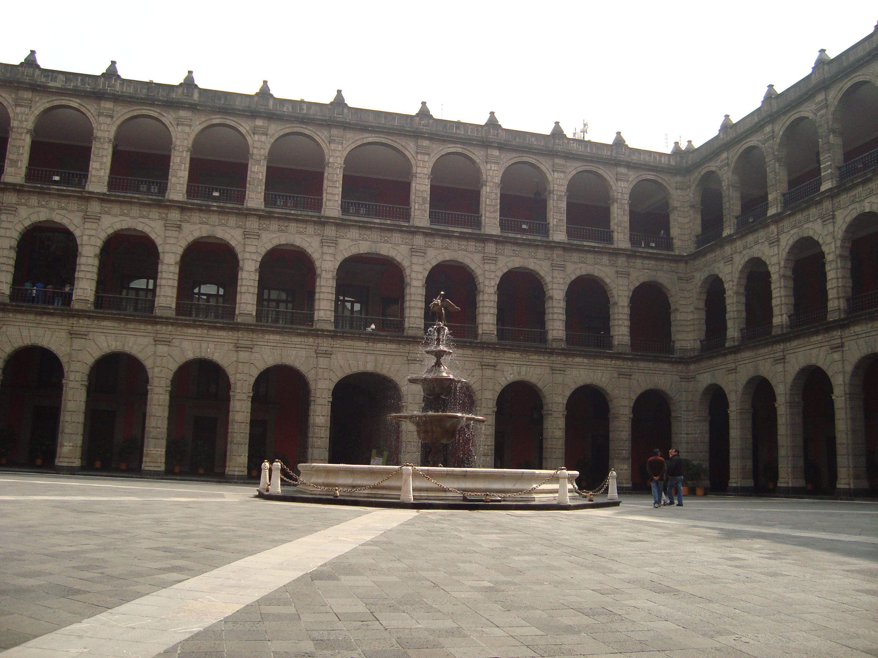 Palacio Nacional, México DF