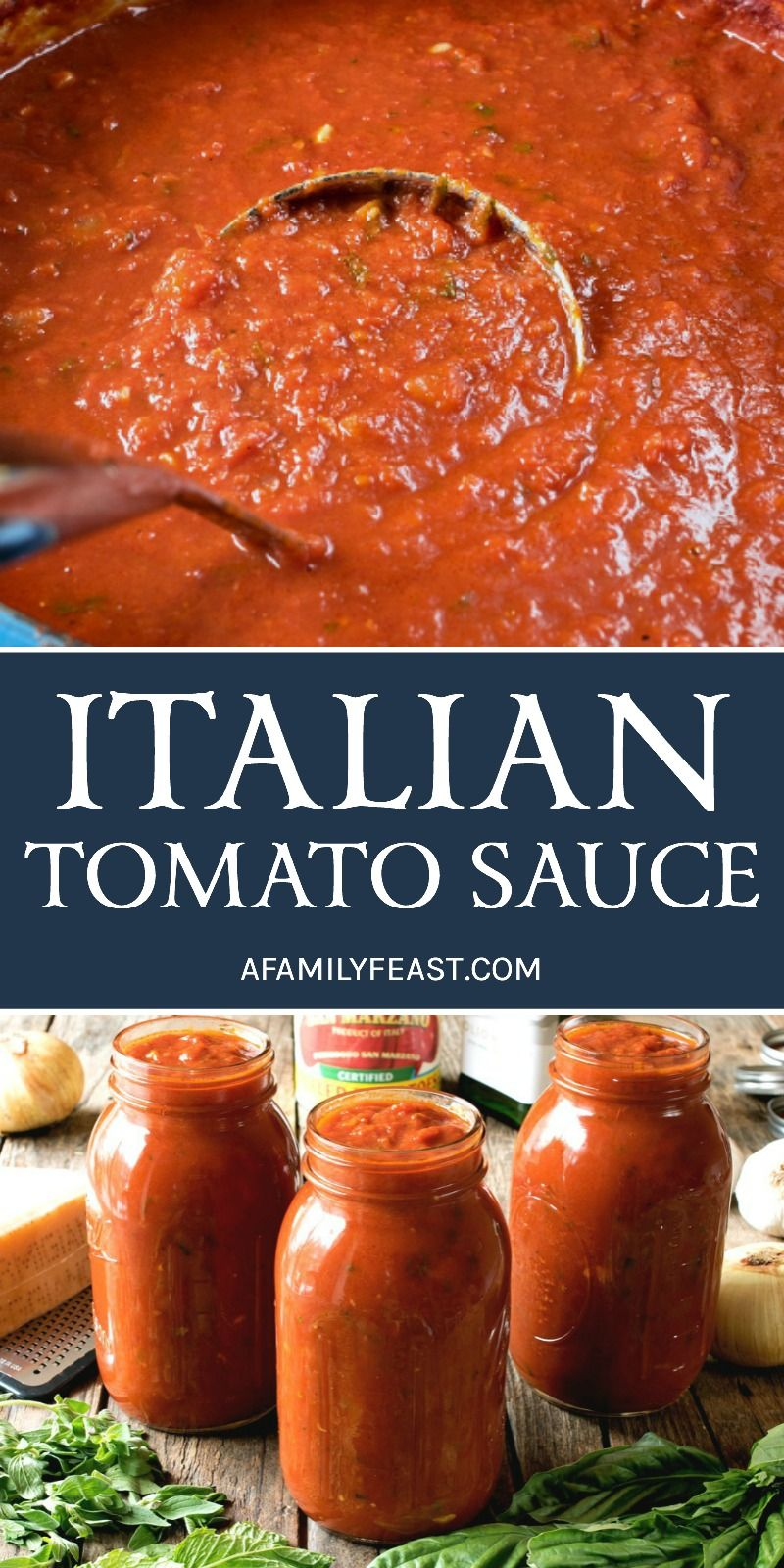 An Authentic And Delicious Italian Tomato Sauce That Has Been Passed Down Through Generations So Italian Tomato Sauce Best Italian Recipes Pasta Sauce Recipes