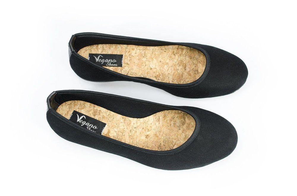 eced74e47f Sapatilha Alamanda Preta - Vegano shoes