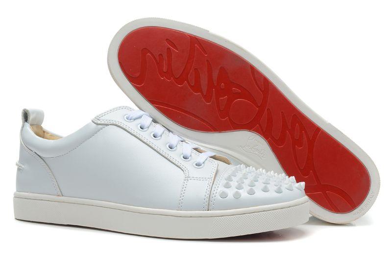 low priced e8991 e6949 Christian Louboutin Designer Louis Junior Spikes Sneakers ...