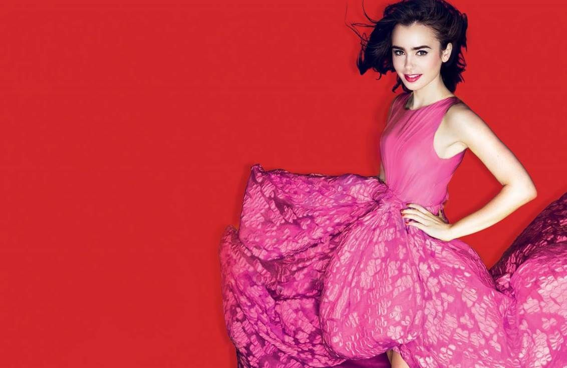 Lily for Lancome 2015   Lily Collins   Pinterest