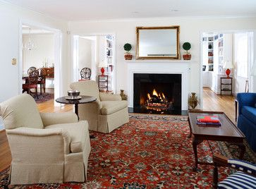 Red Oriental Rug Design Ideas Pictures Remodel And Decor Red Rug Living Room Living Room Carpet Persian Rug Living Room