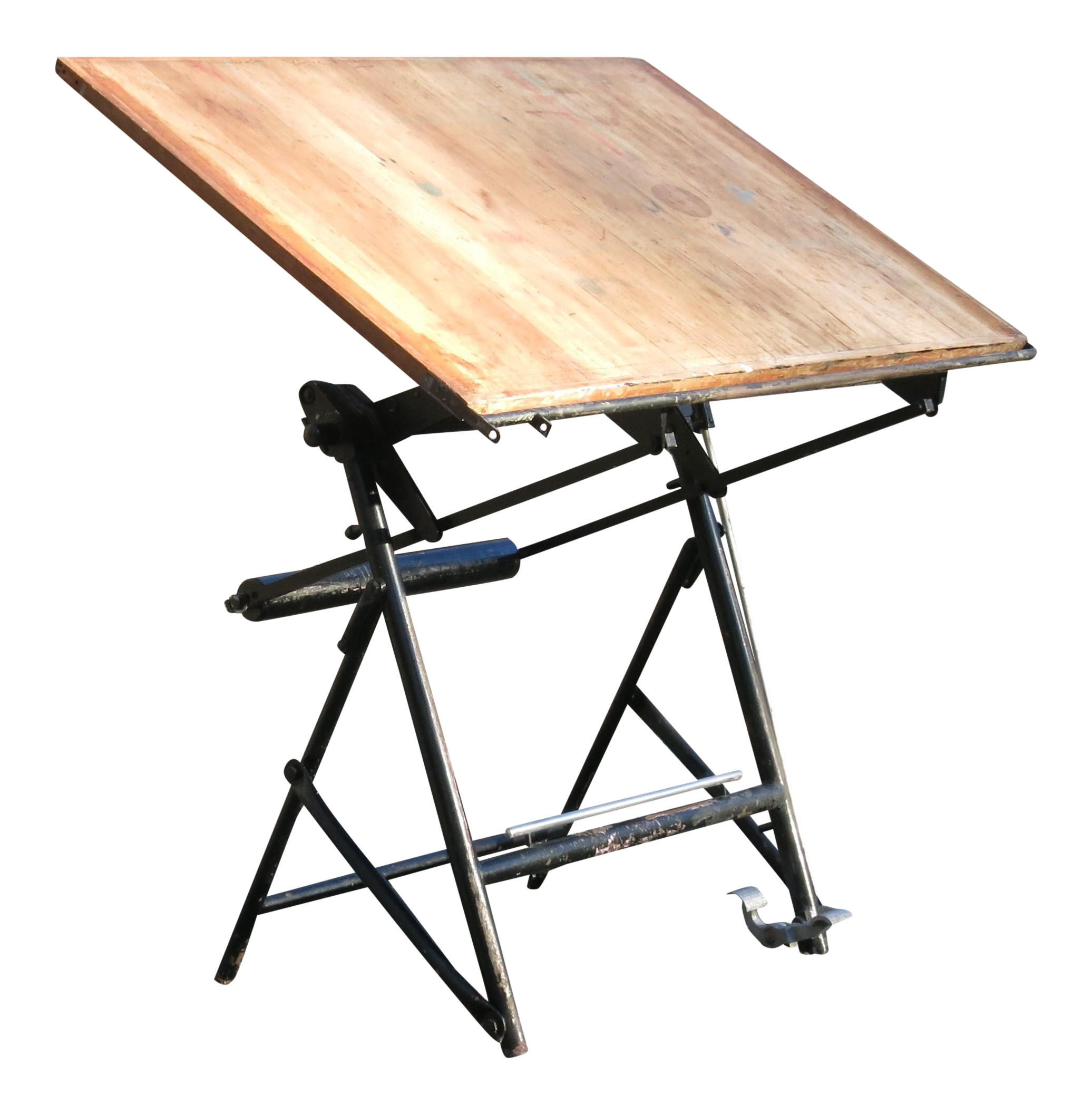 Superieur Vintage French Drafting Table On Chairish.com