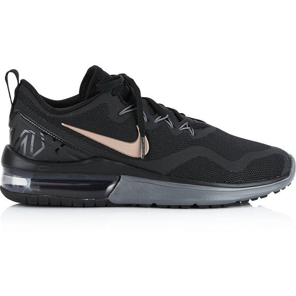 Nike Air Max Fury Trainers- Black (380 PEN) ❤ liked on Polyvore featuring