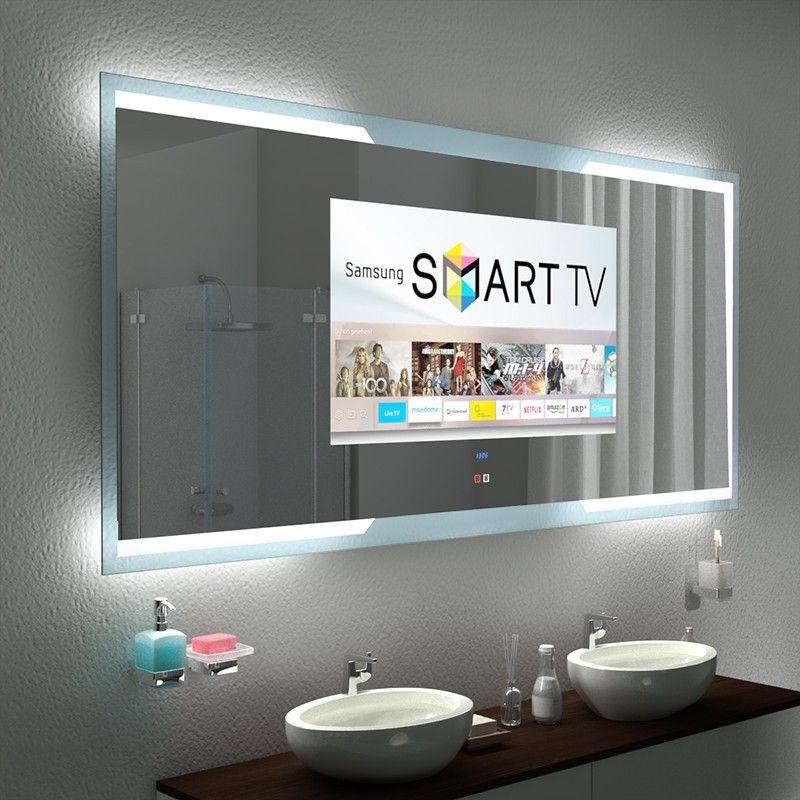 Spiegel Mit Fernseher Kaufen Tampa Mit Glas Rahmen In 2020 Badspiegel Fernseher Kaufen Spiegel