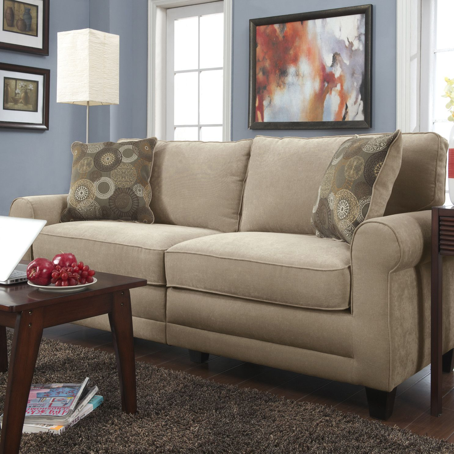 Incroyable Serta At Home Copenhagen Deluxe Sofa U0026 Reviews | Wayfair