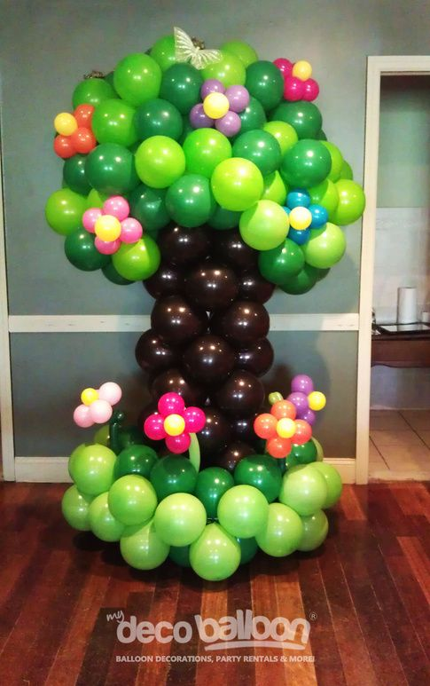 Balloon sculptures don 39 t know when where or what but - Arbolitos para jardin ...