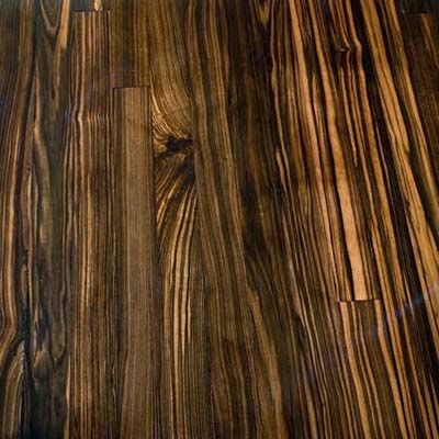 Macar Ebony About 150 Per Square Foot Having Milled Into Flooring Will No Doubt Set Your Home Improvement Budget Back A Ways