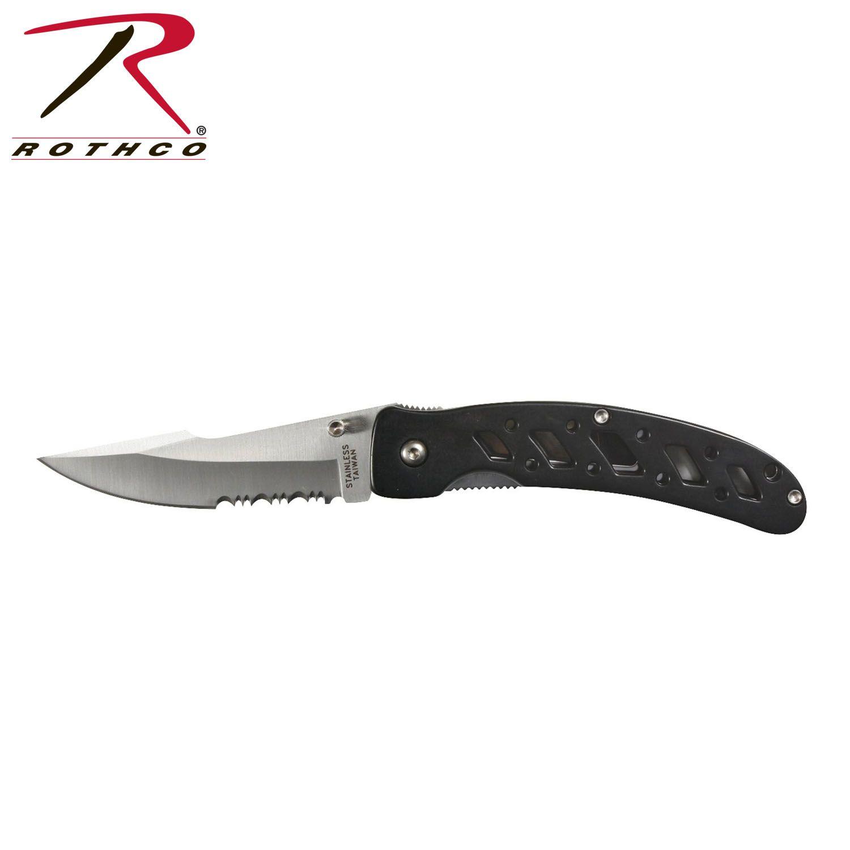 3cb50cf27 سكين جيب روثكو اسود - سكين - العملاق العسكري | مستلزمات عسكرية ...