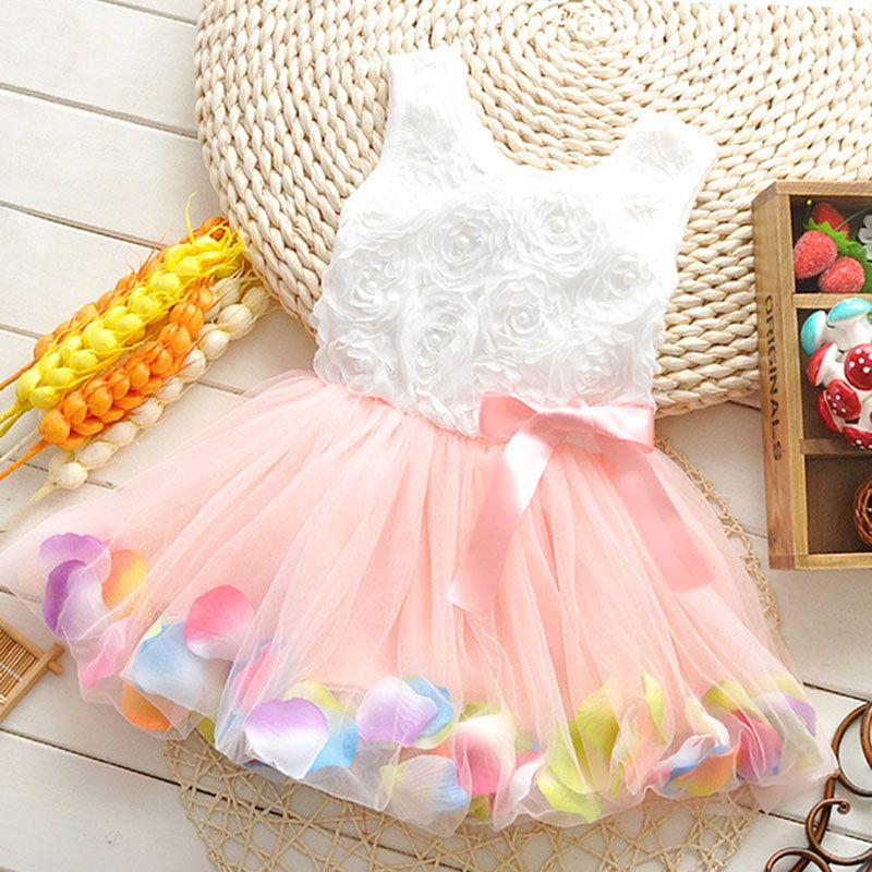 Free Shipping Baby Photo Shoot Dress Flower Girl Dress Pink Princess Dress Baby Princess Dress Baby Princess Dress