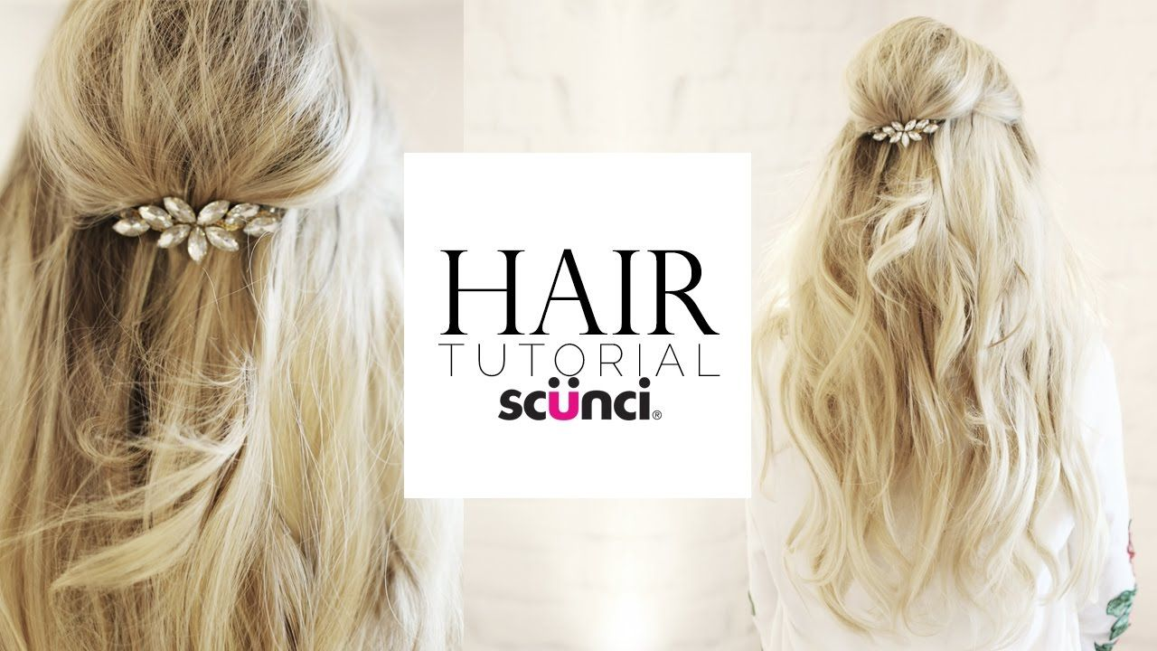 Hollywood Half-up Hair Tutorial with Scunci @scunci | K Ꭺ Ꮪ Ꮪ Ꮖ ...