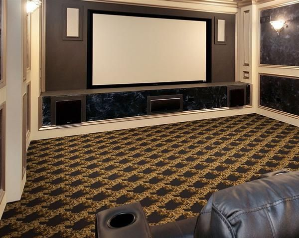 Neoclical Home Theater Carpet