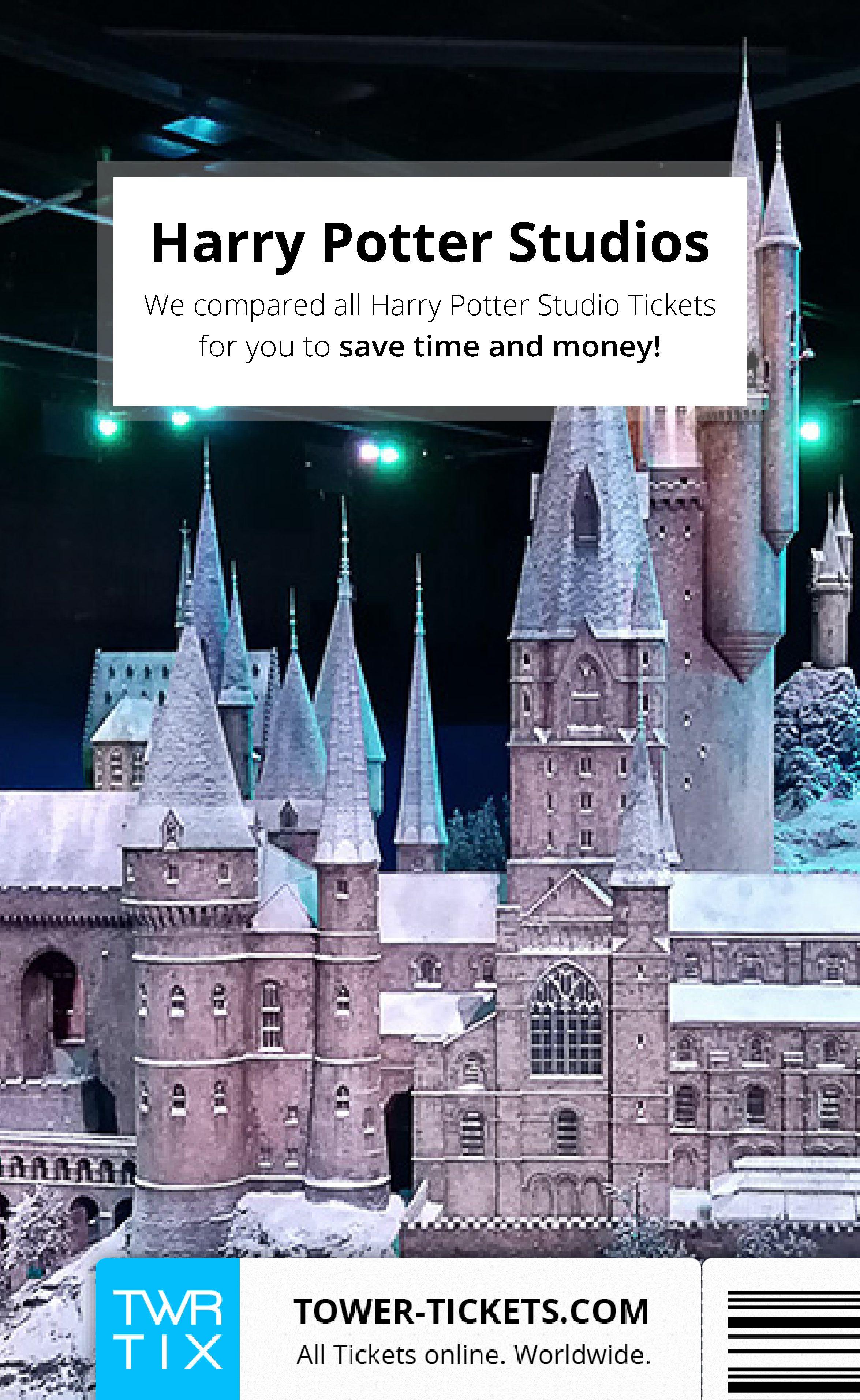 Harry potter studio tickets mit bildern