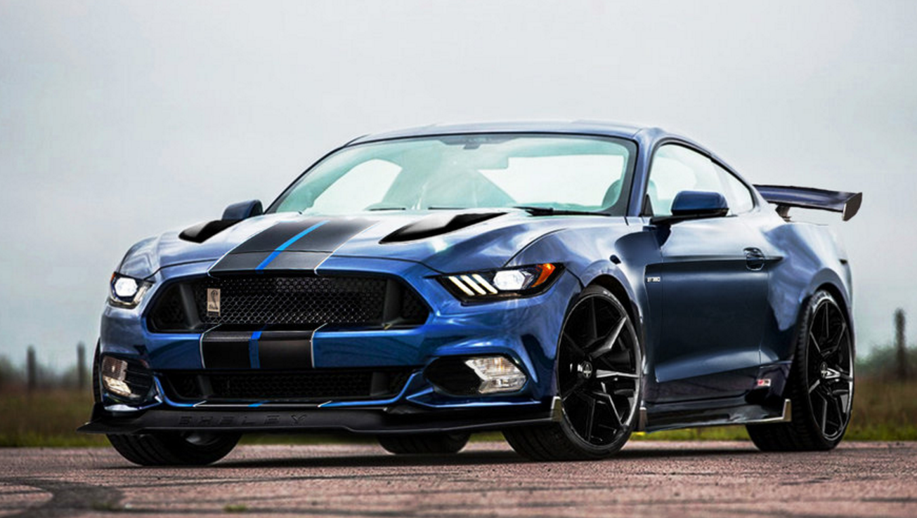 2018 Shelby Gt500 Render