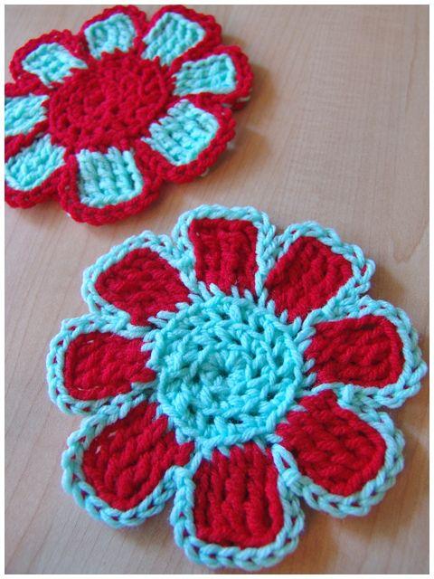 crochetcoasterblog110807.jpg   Crochet Flowers   Pinterest
