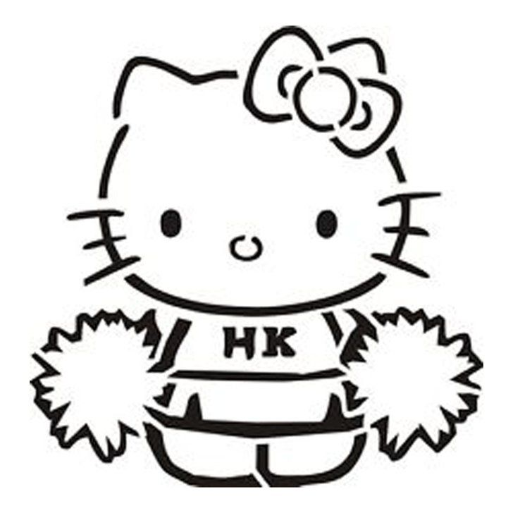 28 Pumpkin Stencils For The Best Hello Kitty Themed Halloween Hello Kitty Hello Kitty Pumpkin Pumpkin Stencil