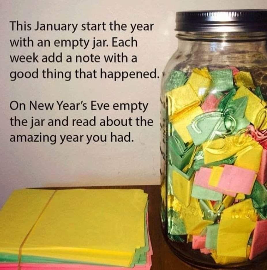 Pin By Sara Javorka On Love In 2020 New Years Eve Jar Newyear