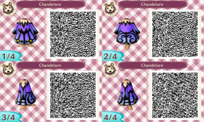 Witch Dress Qr Codes Animal Crossing Animal Crossing Qr Qr