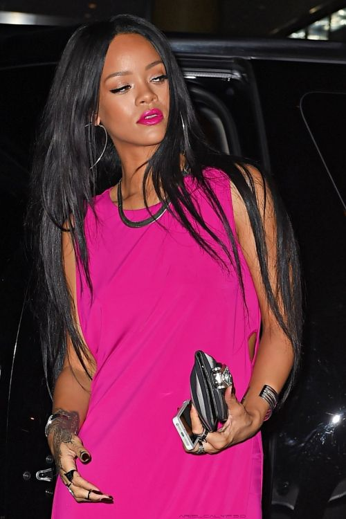Rihanna out and about in New York - 19th August, 2014