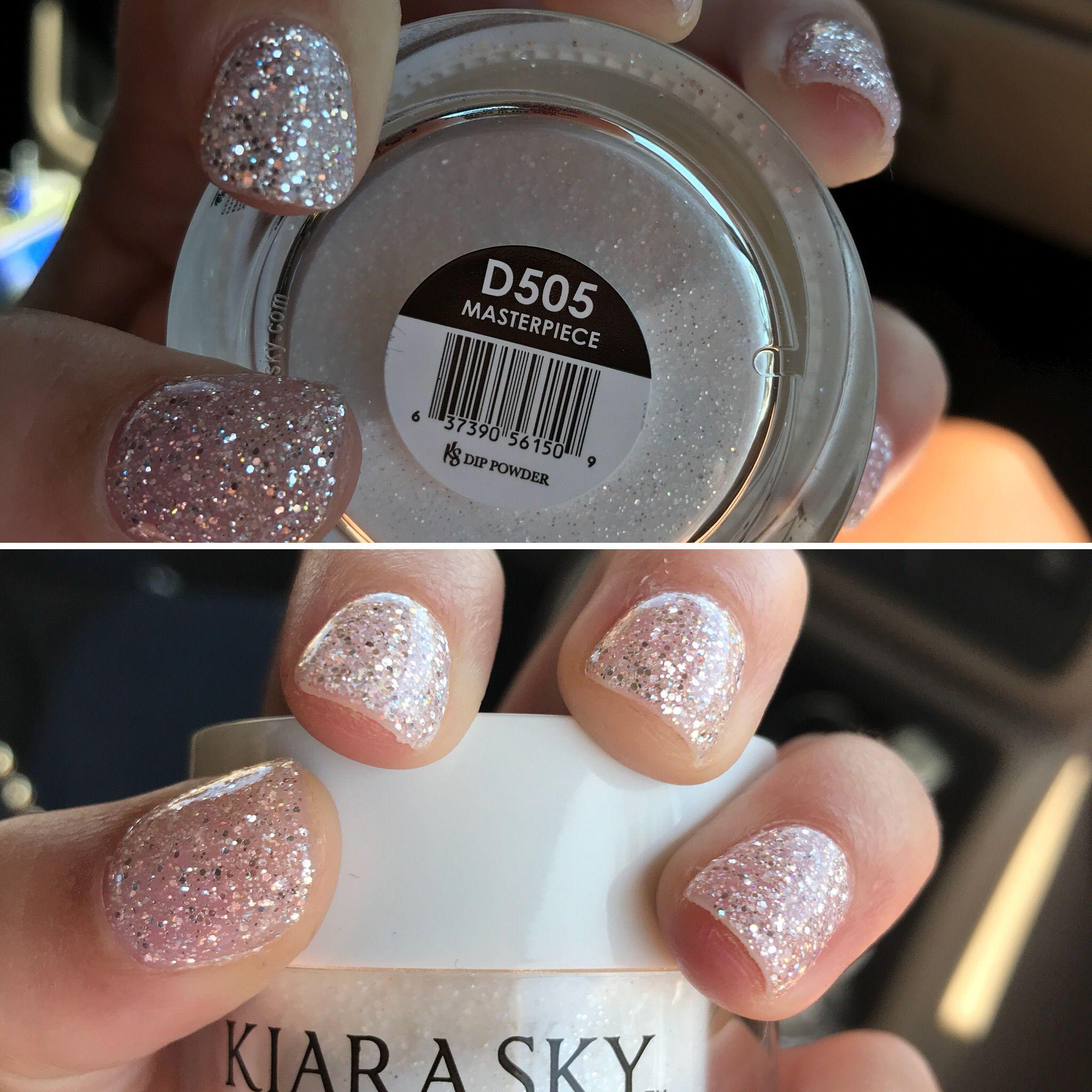 Kiara Sky Nail Powder in Masterpiece | nails! | Pinterest | Sky ...