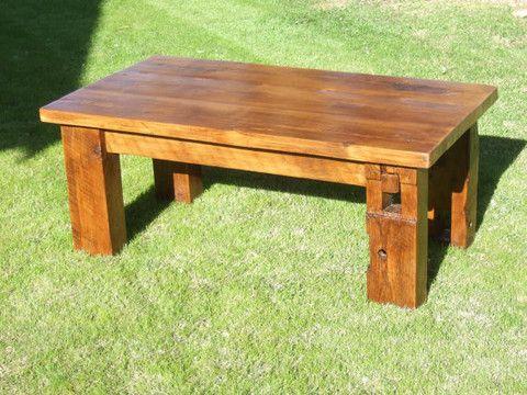 The Bartlett Barn Beam Coffee Table Diy Coffee Table
